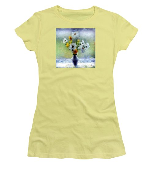 Summerstorm Still Life Women's T-Shirt (Junior Cut) by RC deWinter