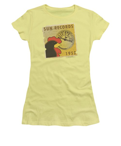 Sun - Distrsd Rooster Poster 1952 Women's T-Shirt (Athletic Fit)
