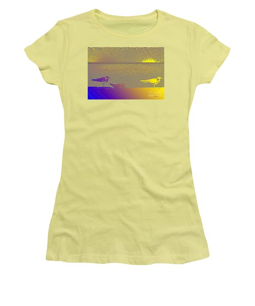 Sunbird Women's T-Shirt (Junior Cut) by Ecinja Art Works