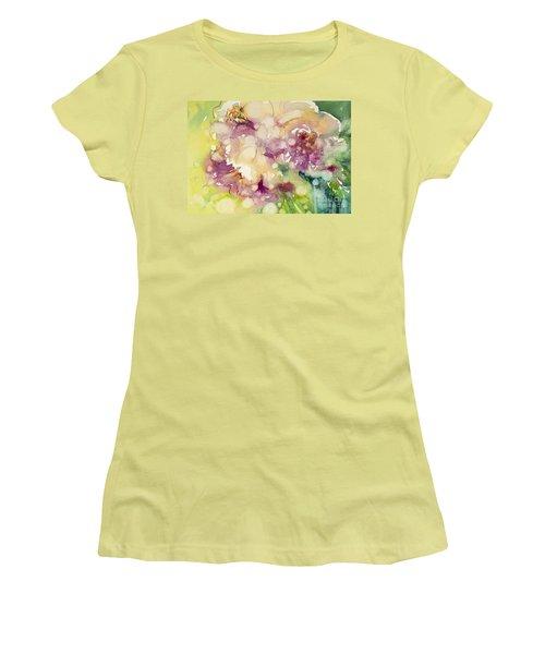Sundappled Rose Women's T-Shirt (Athletic Fit)