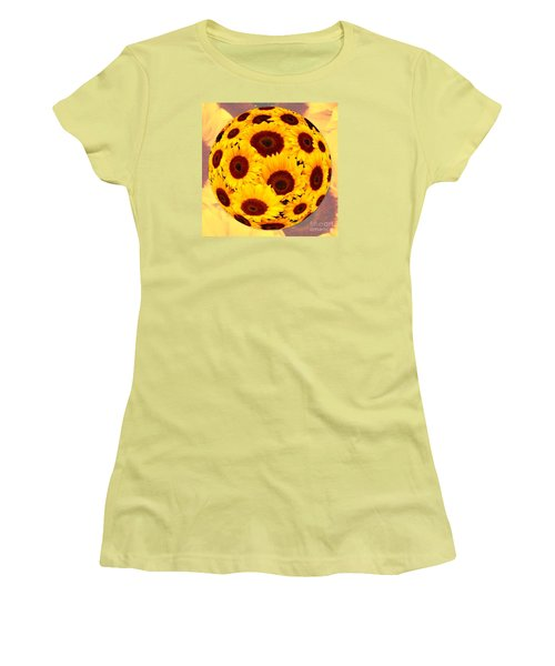 Sunflower Sunshine Women's T-Shirt (Athletic Fit)