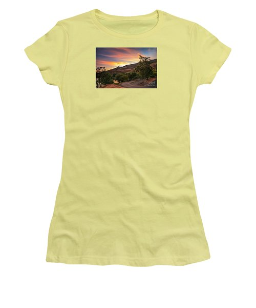 Sunrise At Woodhead Park Women's T-Shirt (Athletic Fit)