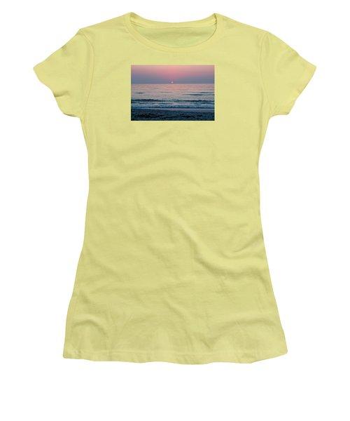 Sunrise Blush Women's T-Shirt (Athletic Fit)