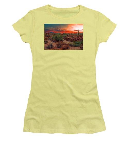 Sunrise Cocktail Women's T-Shirt (Junior Cut) by Tam Ryan