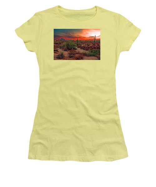 Sunrise Cocktail Women's T-Shirt (Athletic Fit)