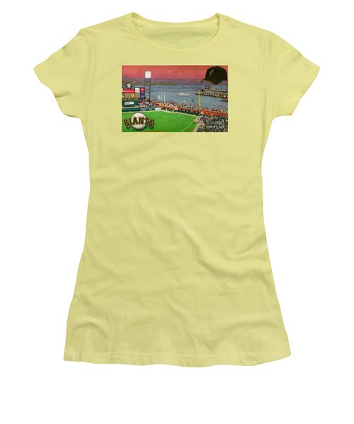 Sunset At The Park Women's T-Shirt (Athletic Fit)