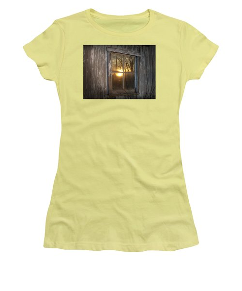 Sunset In Glass Women's T-Shirt (Athletic Fit)