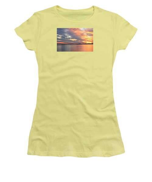 Sunset Magic Women's T-Shirt (Athletic Fit)