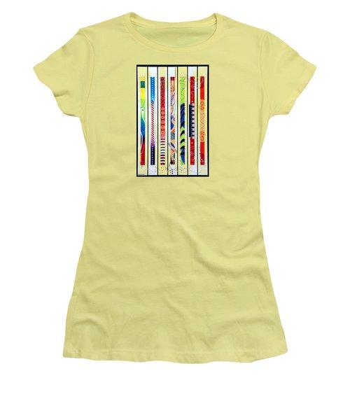 Sweeping Gesture Women's T-Shirt (Junior Cut) by Thomas Gronowski