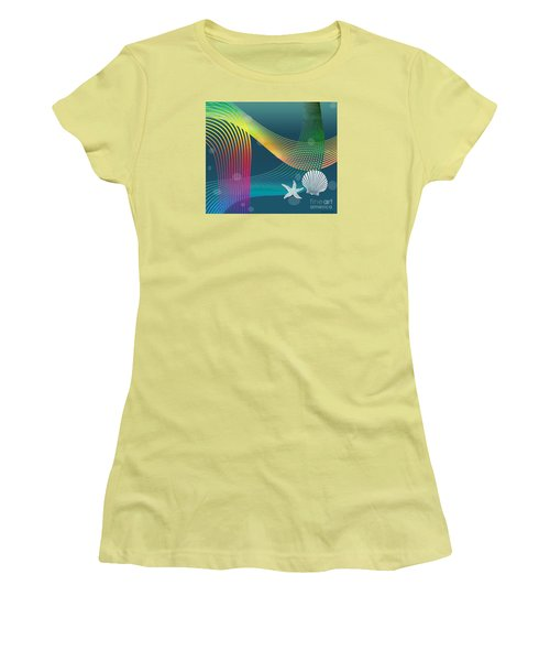 Sweet Dreams2 Abstract Women's T-Shirt (Athletic Fit)