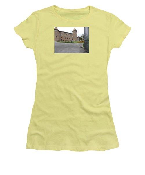 Swiss Castle Women's T-Shirt (Athletic Fit)