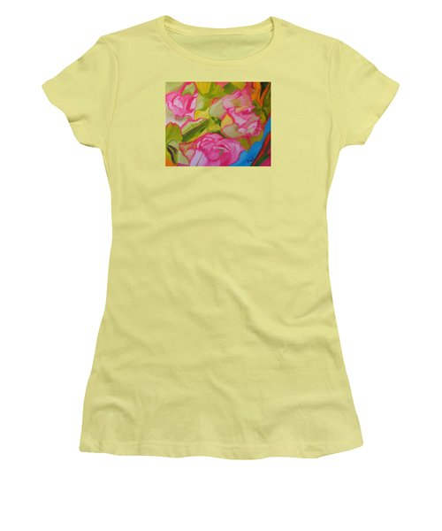 Symphony Of Roses Women's T-Shirt (Athletic Fit)