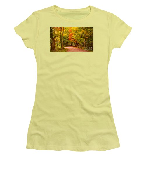 Take Me To The Forest Women's T-Shirt (Athletic Fit)