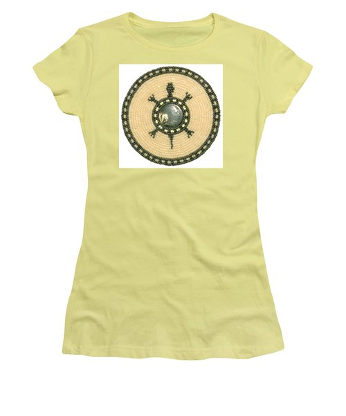 Tan Indian Turtle Women's T-Shirt (Athletic Fit)