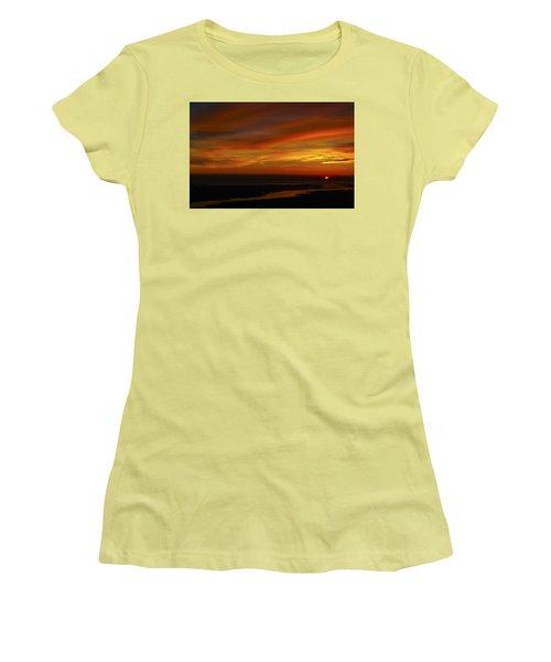 Rappahannock Sunrise II Women's T-Shirt (Junior Cut) by Greg Reed