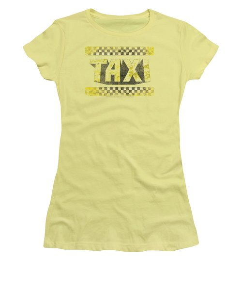 Taxi - Run Down Taxi Women's T-Shirt (Athletic Fit)