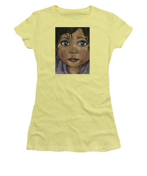 Ebony's Tears Women's T-Shirt (Athletic Fit)