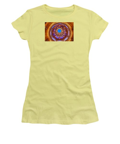 Temple Ceiling Women's T-Shirt (Athletic Fit)