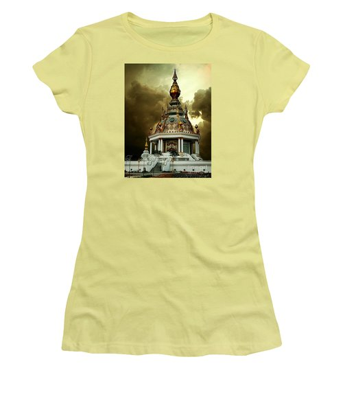 Temple Of Clouds  Women's T-Shirt (Junior Cut) by Ian Gledhill