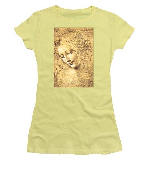 Testa Di Fanciulla Detta La Scapigliata Women's T-Shirt (Athletic Fit)