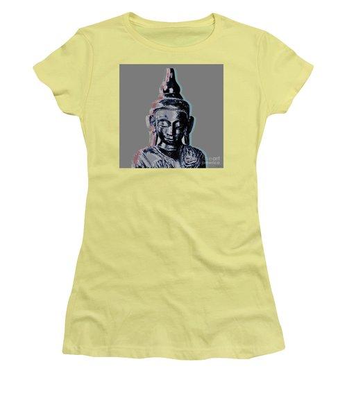 Thai Buddha #2 Women's T-Shirt (Junior Cut) by Jean luc Comperat