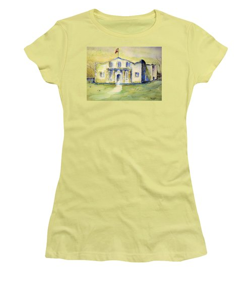 The Alamo  Women's T-Shirt (Athletic Fit)