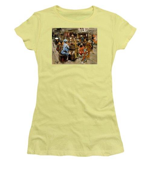The Ameya Women's T-Shirt (Junior Cut) by Robert Frederick Blum