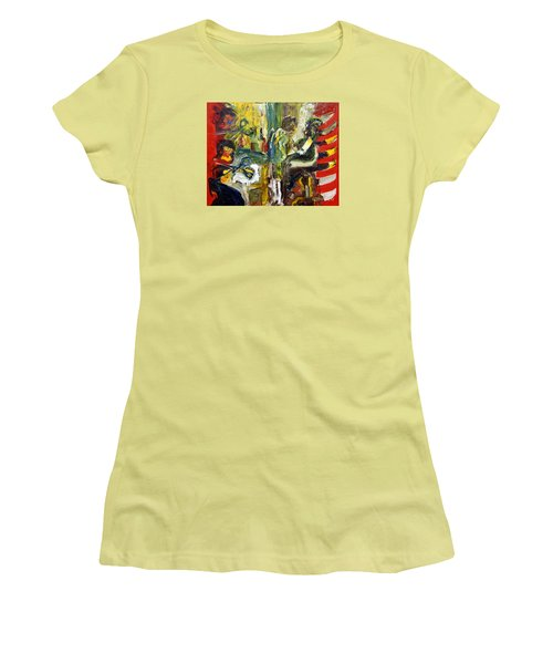 The Barbers Shop - 1 Women's T-Shirt (Athletic Fit)