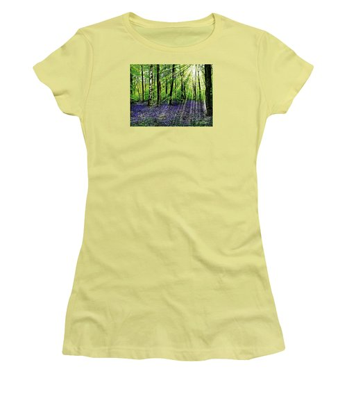 The Bluebell Woods Women's T-Shirt (Athletic Fit)