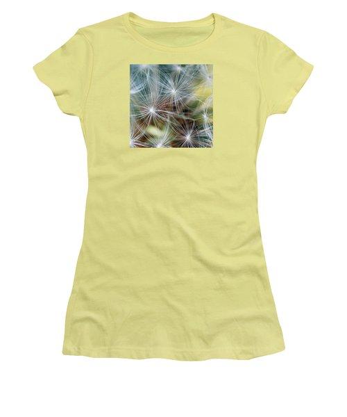 The Clock Women's T-Shirt (Junior Cut) by Wendy Wilton