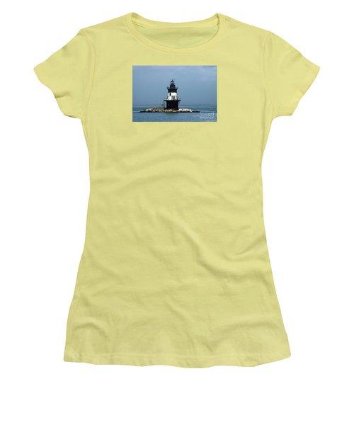 The Coffee Pot Lighthouse Women's T-Shirt (Junior Cut) by Christiane Schulze Art And Photography