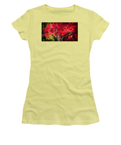 The Color Of Fall Women's T-Shirt (Junior Cut) by Patrice Zinck