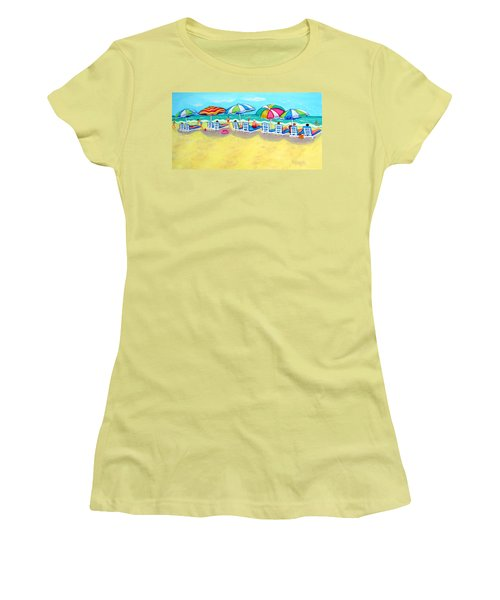 The Color Of Summer  Women's T-Shirt (Junior Cut) by Rebecca Korpita