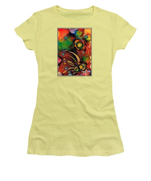 The Colours Of My Mind.. Women's T-Shirt (Athletic Fit)
