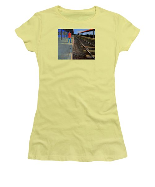 The Distance Of Solitude Women's T-Shirt (Athletic Fit)