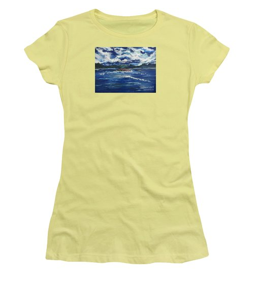 The Enchanting Sea  Women's T-Shirt (Athletic Fit)