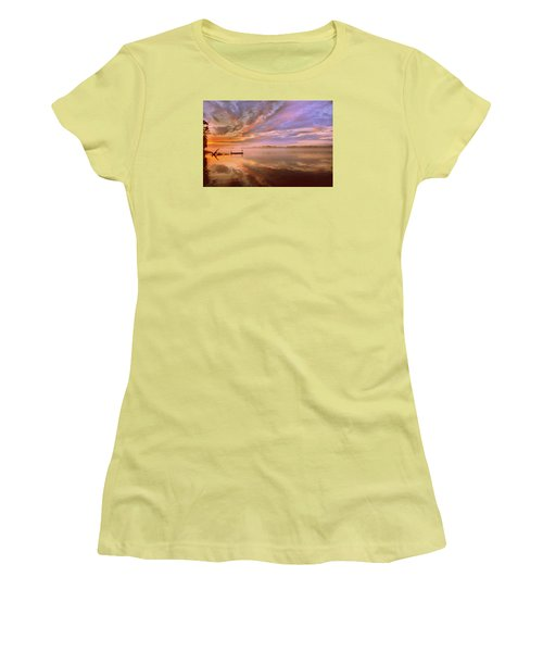 The End Women's T-Shirt (Athletic Fit)