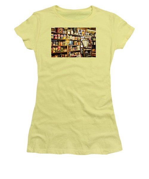 The General Store Women's T-Shirt (Junior Cut) by Lana Trussell