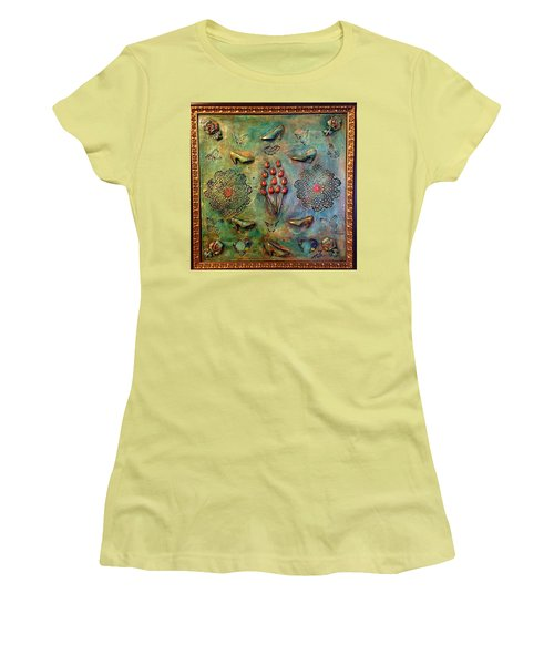 The Gift By Alfredo Garcia Art Women's T-Shirt (Athletic Fit)