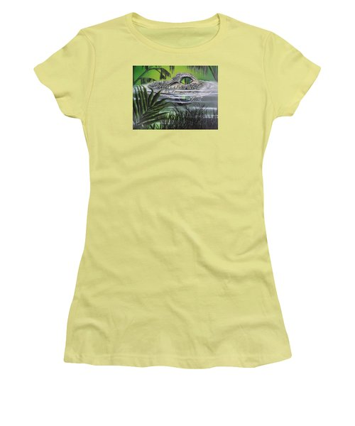 The Glades Women's T-Shirt (Junior Cut) by Dianna Lewis