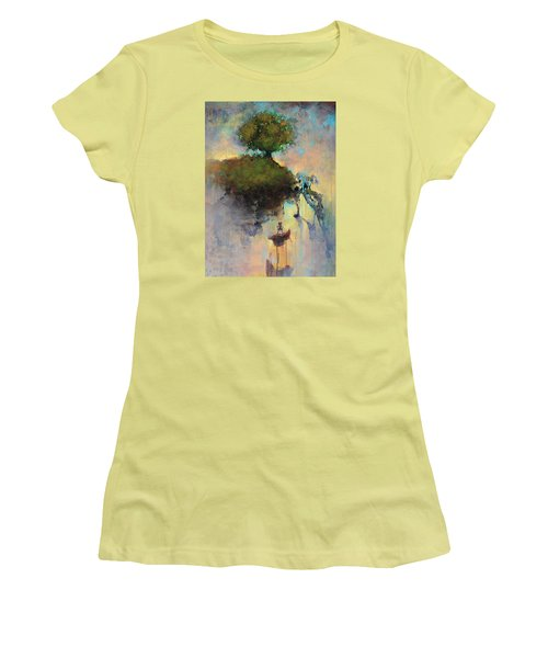 The Hiding Place Women's T-Shirt (Junior Cut) by Joshua Smith