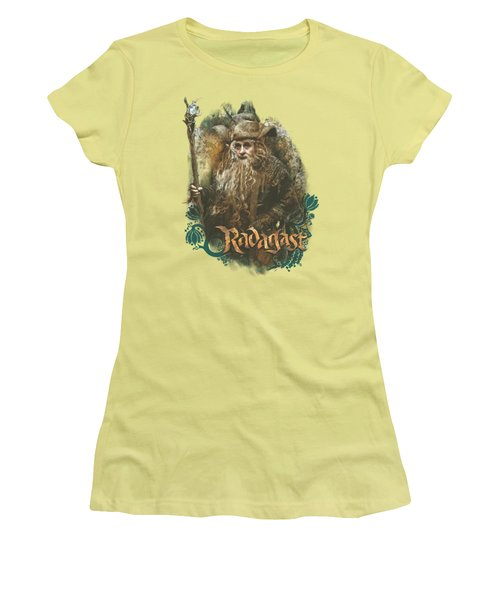 The Hobbit - Radagast The Brown Women's T-Shirt (Athletic Fit)
