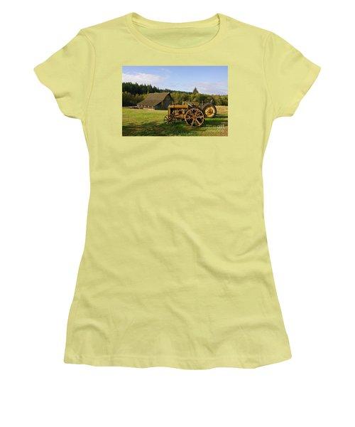 Women's T-Shirt (Junior Cut) featuring the photograph The Johnson Farm by Sean Griffin