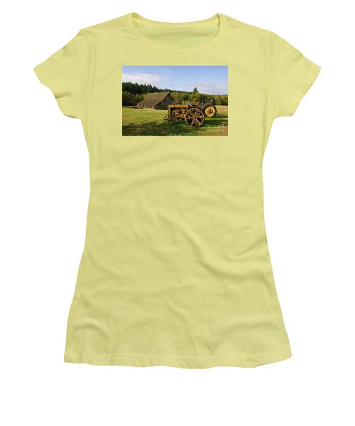 The Johnson Farm Women's T-Shirt (Athletic Fit)