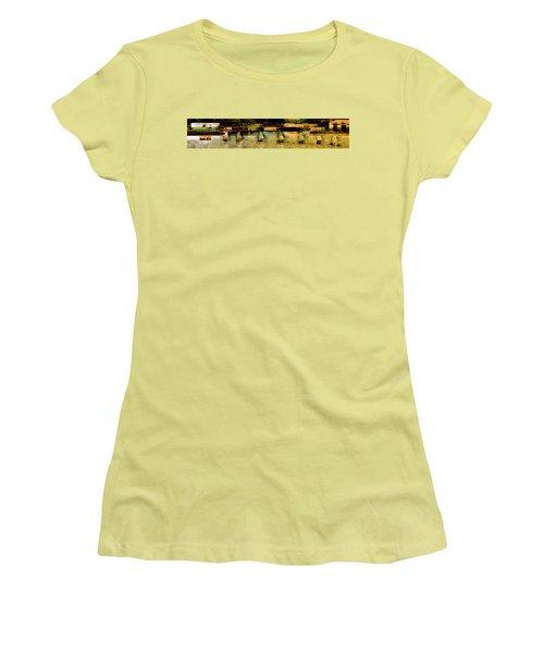 The Line Up Women's T-Shirt (Junior Cut) by Jodie Marie Anne Richardson Traugott          aka jm-ART