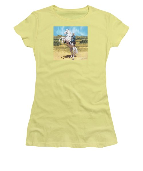 The Lone Ranger Women's T-Shirt (Athletic Fit)