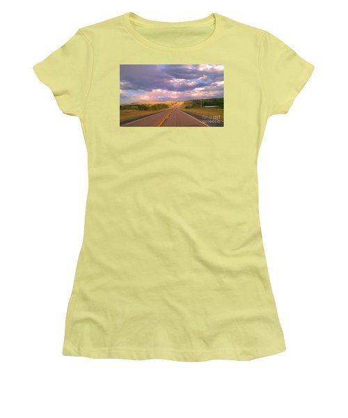 The Long Road Home Women's T-Shirt (Athletic Fit)