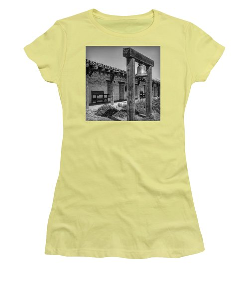 The Mission Bell B/w Women's T-Shirt (Athletic Fit)
