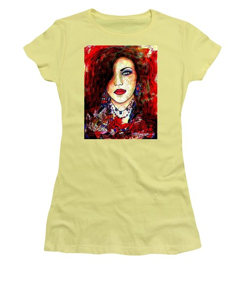 The Model Women's T-Shirt (Junior Cut) by Natalie Holland