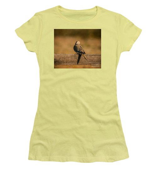 The Morning Dove Women's T-Shirt (Junior Cut) by Robert Frederick